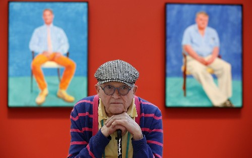 David Hockney, a portrait of the portrait artist at 80: 'I'm still curious' - Los Angeles Times