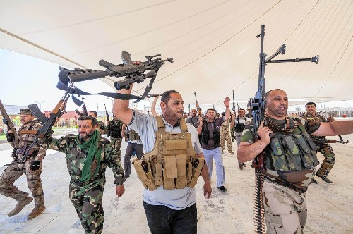 Iraq's Shiites fight for their shrines and their creed