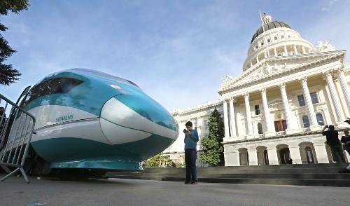 'Smart' highways, not bullet trains, for California