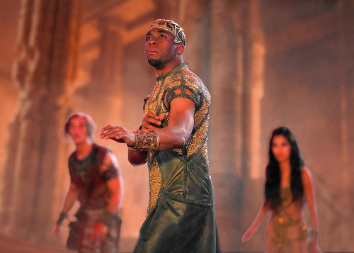 A roughly $15-million debut is predicted for 'Gods of Egypt' -- a $140-million film - Los Angeles Times