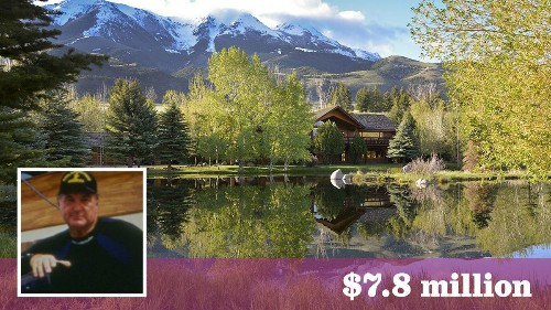 Filmmaker Al Giddings seeks $7.8 million for his sprawling Montana ranch