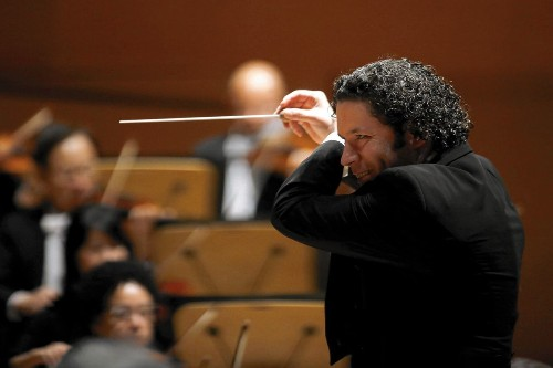 As the Los Angeles Philharmonic tours, Gustavo Dudamel seems determined to shake up his audiences