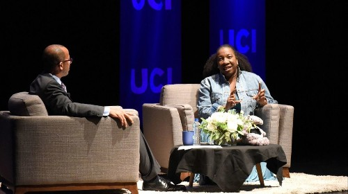 MeToo leader urges people during UC Irvine appearance to remember the 'walking wounded' of sexual violence