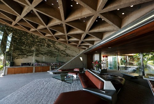 LACMA gets gravity-defying John Lautner-designed home featured in 'The Big Lebowski'