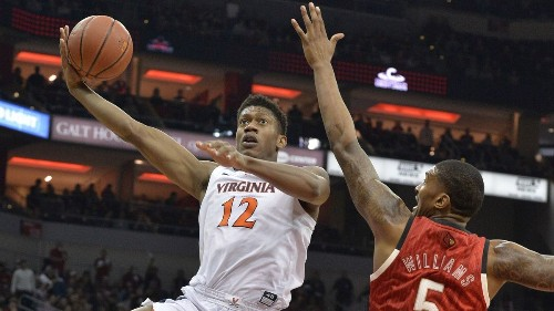 College basketball: No. 3 Virginia rallies in second half to beat No. 18 Louisville