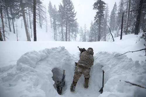 Cold war in the Sierra Nevada: Marines train for winter operations