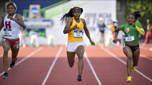 It hasn't taken long for USC sprinter Twanisha Terry to become elite - Los Angeles Times
