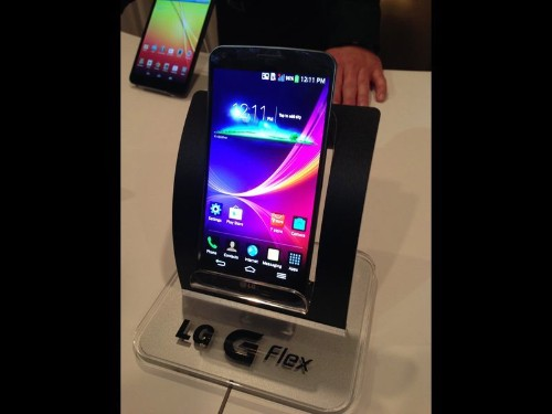 LG unveils curved, flexible smartphone to better fit your body - Los Angeles Times