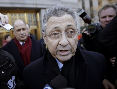 New York speaker to temporarily cede power as he fights corruption charges