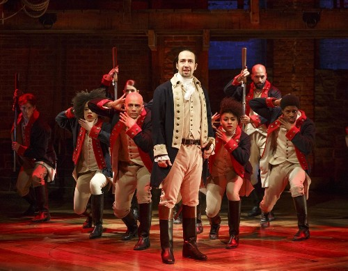 Grammy Awards to broadcast 'Hamilton' opening number live from Broadway