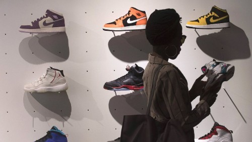 Those Nikes — buy, sell or hold? Sneakers are now assets trading like stocks