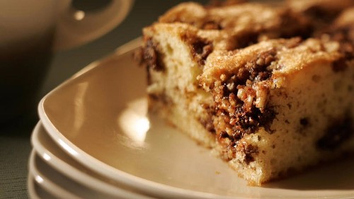 How to make a great coffeecake, plus some useful oven tips