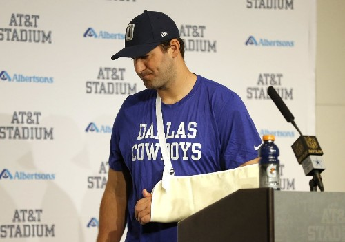 Cowboys' Tony Romo will miss rest of season because of collarbone injury