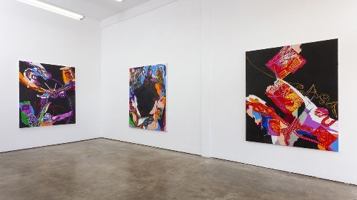 Review: Adam Saks' pilgrimage paintings present a journey all their own