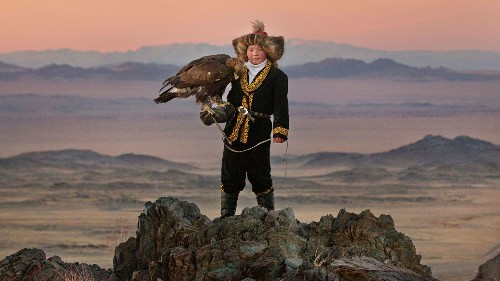 Documentaries 'The Eagle Huntress' and 'Life, Animated' explore the worlds of two very different young people