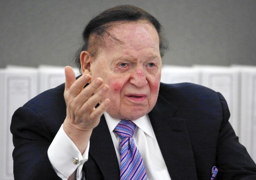 Las Vegas newspaper staff feels casino giant Sheldon Adelson's tightening grip