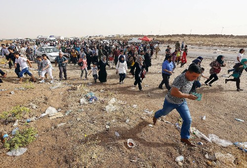 Islamic militants accused of war crimes in northern Iraq offensive - Los Angeles Times