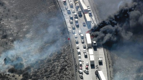 Cajon Pass fire victims outraged about towing fees: 'I didn't do anything illegal'