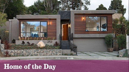 Home of the Day: Cool and contemporary in the hills of Studio City - Los Angeles Times