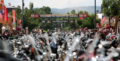 You could be attending Sturgis' motorcycle rally with 999,999 of your closest friends