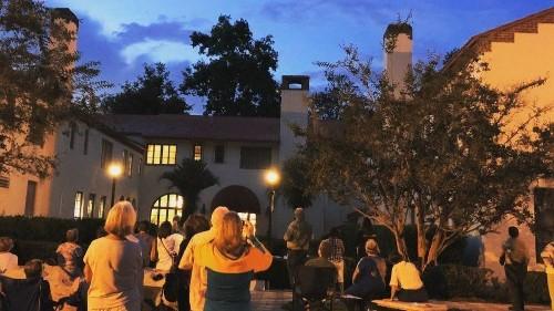 Spiraling swifts put on seasonal show at Florida state park