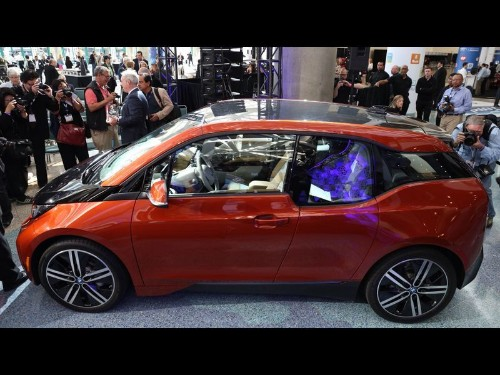 LA Auto Show 2014: BMW's i3 named Green Car of the Year