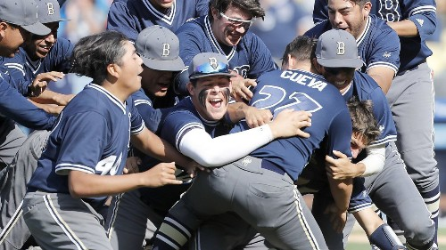 Birmingham wins third consecutive City Section Open Division baseball title