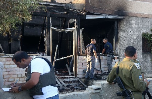 Palestinian toddler burned to death in attack by suspected Israeli extremists