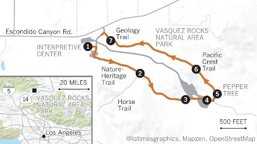 Hike Vasquez Rocks, famous from 'Westworld' and 'Planet of the Apes'