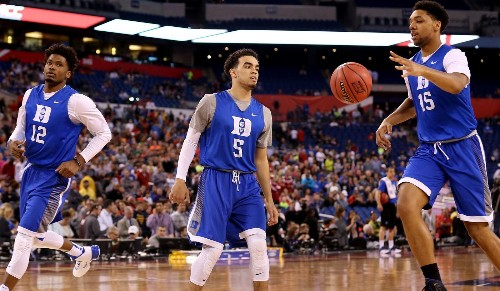 Duke team features three freshmen who may opt out for the NBA