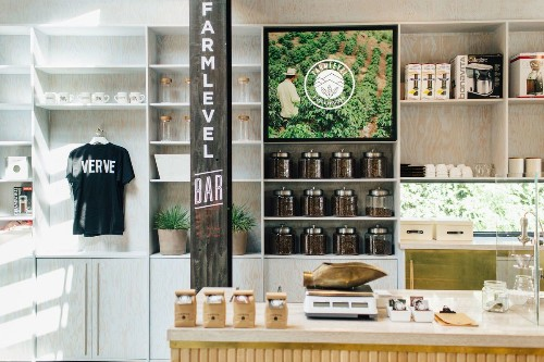 Check out this coffee genius bar at the Verve Coffee Roasters in Beverly Grove