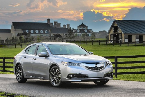 Review: 2015 Acura TLX is comfortable, competent and quiet - Los Angeles Times
