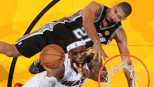 Tim Duncan, LeBron James hungry for new title as NBA Finals arrive