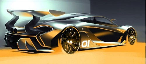 First Look: McLaren unveils P1 GTR race track car