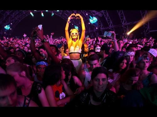 Bigger, more rarefied Coachella offers revelers creature comforts - Los Angeles Times