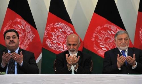 Ghani named official winner of Aghan election