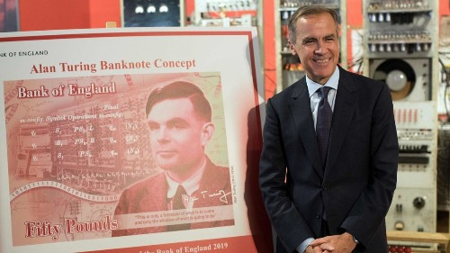 Alan Turing, computer legend prosecuted for being gay, to be face of new British banknote