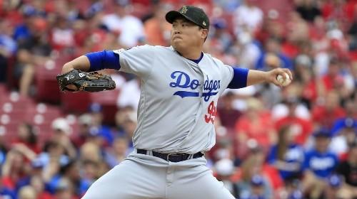 Hyun-Jin Ryu extends scoreless innings streak to 31 as Dodgers top Reds