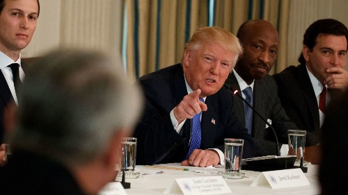 Factory CEOs tell Trump: Jobs exist, skilled applicants don't