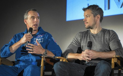 Why NASA scientists are excited about Matt Damon film 'The Martian' - Los Angeles Times