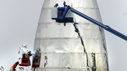 Trump border wall could split SpaceX's Texas launchpad in two