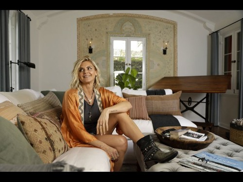 My Favorite Room: In actress Eliza Coupe's living room, something comfy this way comes