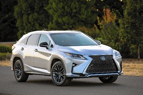 Luxurious Lexus RX makes cheaper NX look bad in comparison - Los Angeles Times
