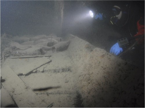 170-year-old shipwrecked champagne much like bubbly today, study finds