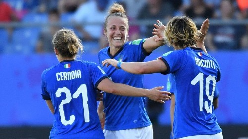 Women's World Cup: Italy defeats China to advance to quarterfinals; Netherlands advances with win over Japan