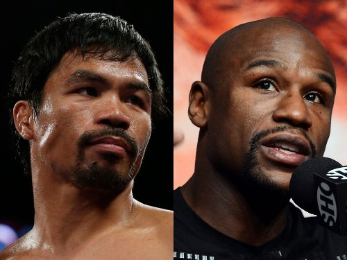 Manny Pacquiao will fight Floyd Mayweather Jr. on May 2