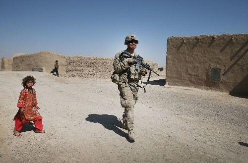Afghanistan security at risk in U.S. pullout, official says - Los Angeles Times