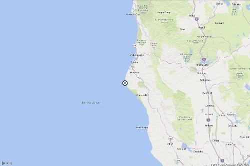 Earthquake: Magnitude 3.5 quake strikes off Northern California coast