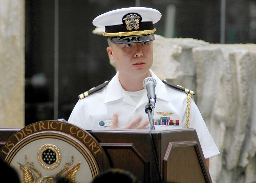 U.S. Navy officer is charged with espionage