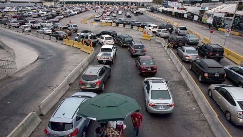 How to get through the Tijuana border crossing faster - Los Angeles Times